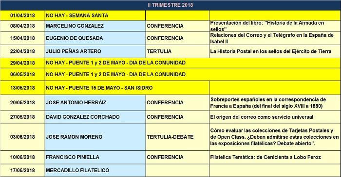 Conferencias 2018