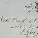 Numerales barrados escoceses del siglo XIX
