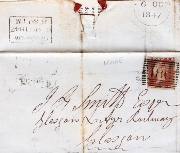 Numerales barrados escoceses del siglo XIX - Sociedad Filatélica de ...