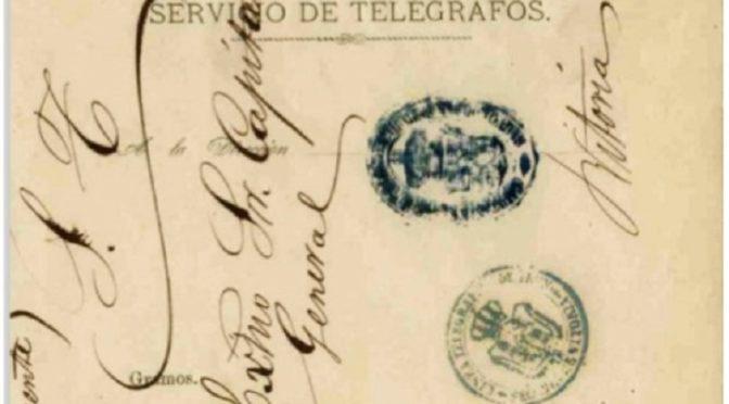 Los sobres para el envío de Telegramas por Correo