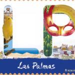 12 meses, 12 sellos. Las Palmas.