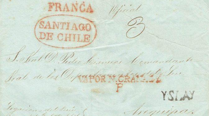 Historia Postal de Chile (II)