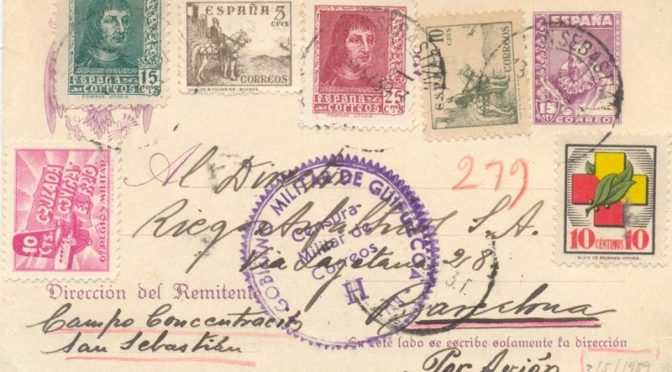 Entero Postales de Cervantes